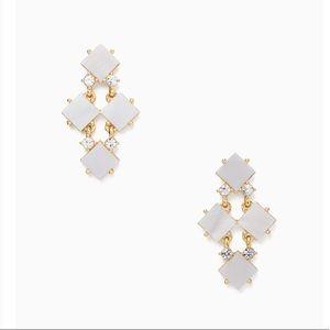 Pearl Cove Chandelier Earrings